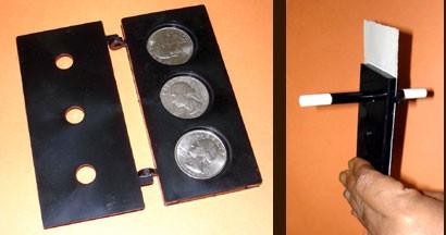 3 עפרונות דרך 3 מטבעות 113