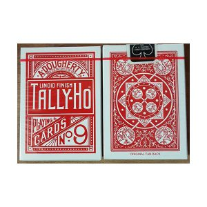 tally ho fan deck red קלפים 330