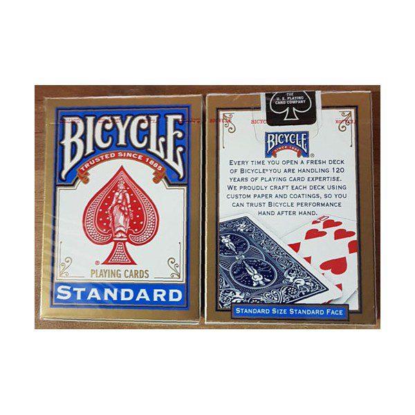 קלפים 302 bicycle standard blue