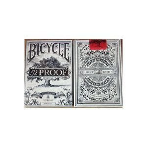 קלפים 356 bicycle 52 proof