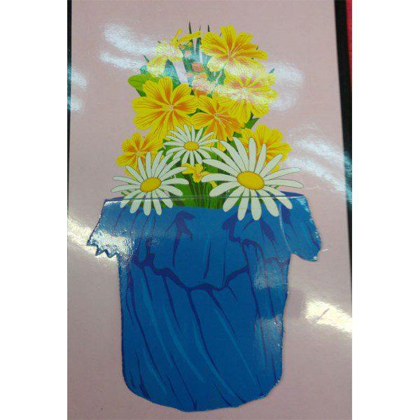 פרחים יוצאים מהעציץ 254