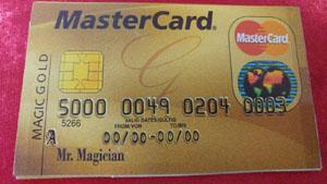 כרטיס אשראי 10768